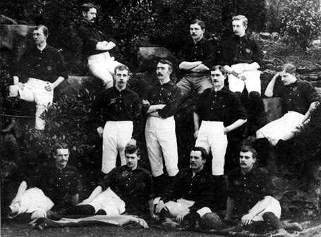 Nottingham Forest First Team in 1884