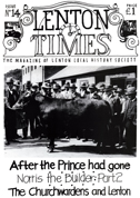 Front cover of Issue 14 - Lenton Times