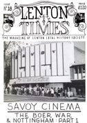 Front cover of Issue 18 - Lenton Times
