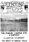 Front cover of Issue 22 - Lenton Times