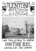 Front cover of Issue 23 - Lenton Times