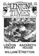 Front cover of Issue 25 - Lenton Times