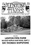 Front cover of Issue 16 - Lenton Times