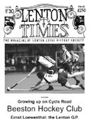 Front cover of Issue 30 - Lenton Times