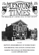 Front cover of Issue 35 - Lenton Times