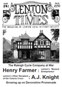 Front cover of Issue 41 - Lenton Times. Our front cover photograph features No.84 Sherwin Road.