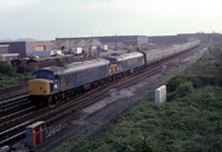 Photograph taken by Mike Sheridan - May 1981